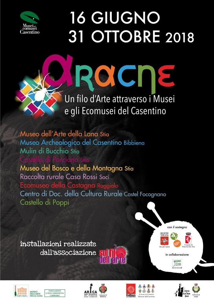 ARACNE Un filo d'arte attraverso i Musei e gli Ecomusei del Casentino