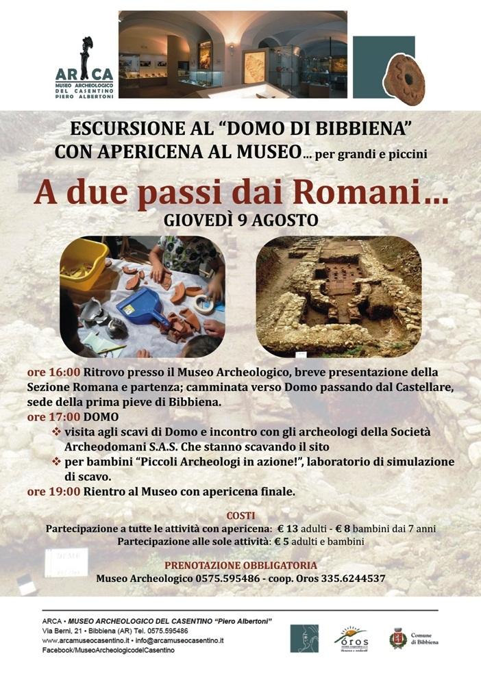 """ESCURSIONE AL """"DOMO DI BIBBIENA"""" CON APERICENA AL MUSEO..per grandi e piccini"""