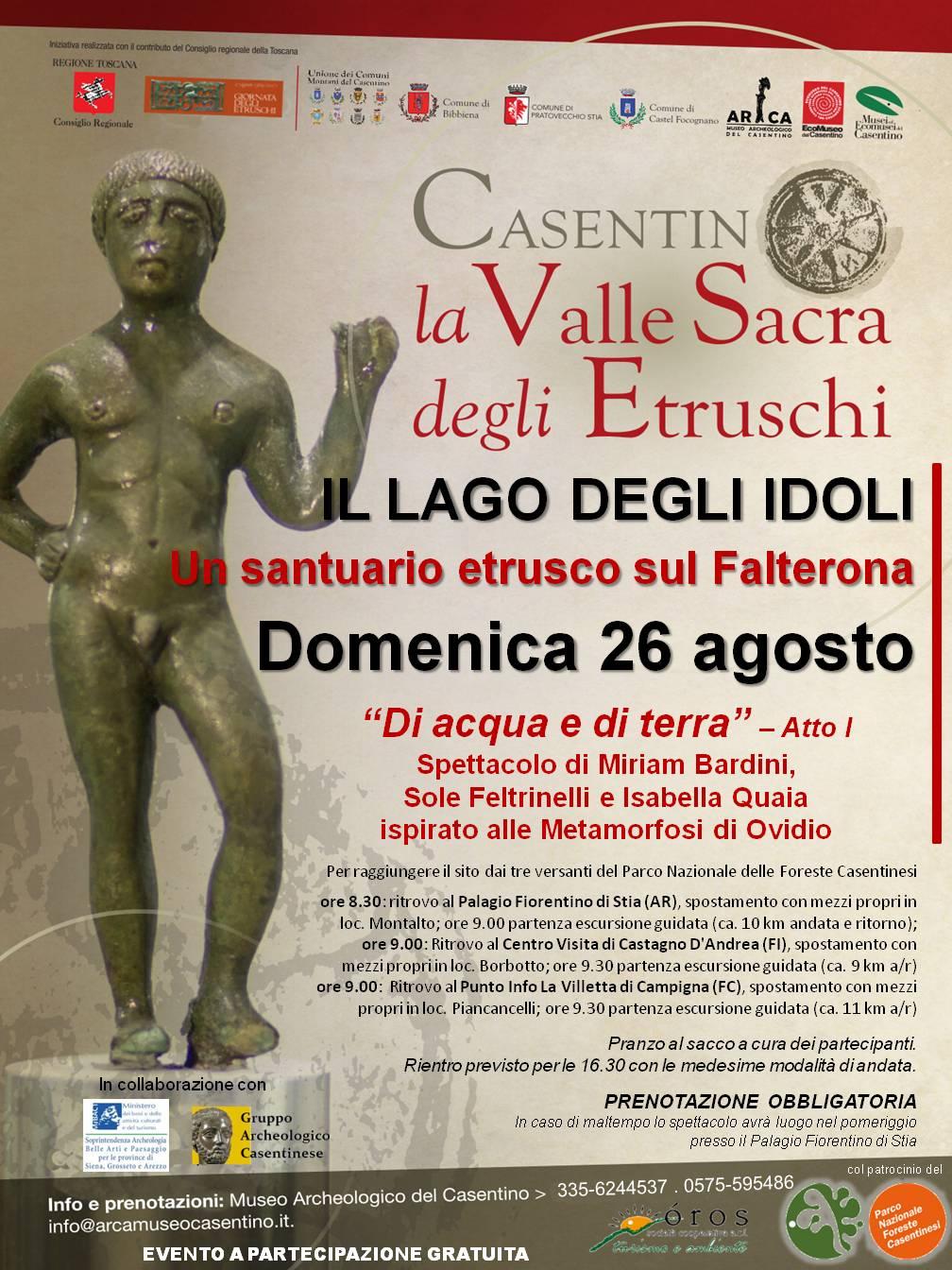 Un santuario etrusco sul Falterona