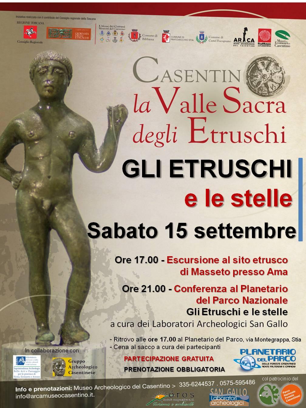 Celebrazioni etrusche 2018
