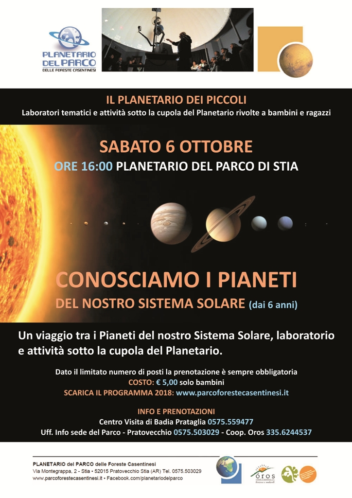 Il Planetario dei Piccoli