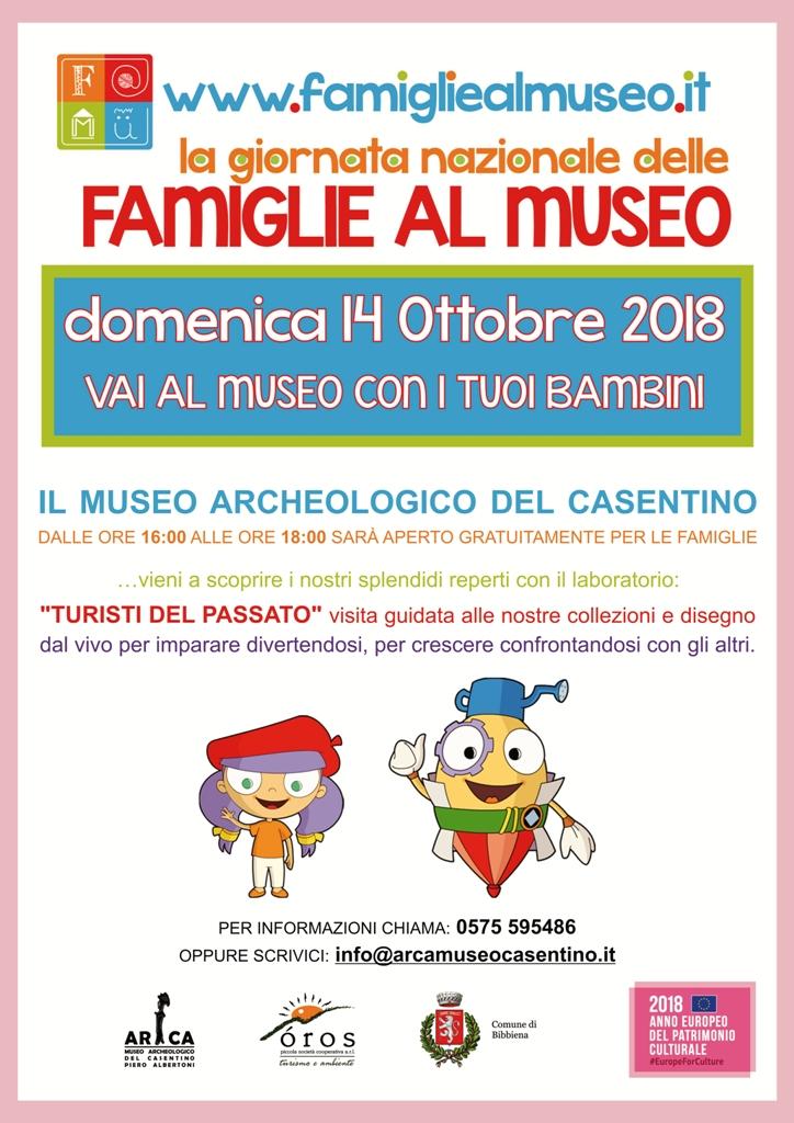 Domenica 14 Ottobre 2018 vai al Museo con i tuoi bambini