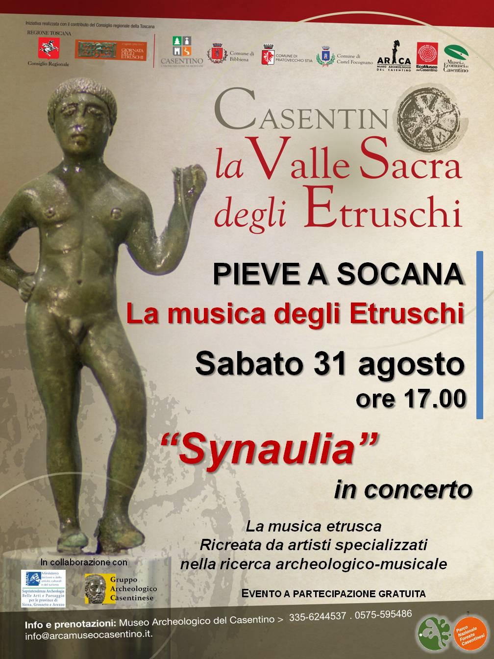 La musica degli Etruschi