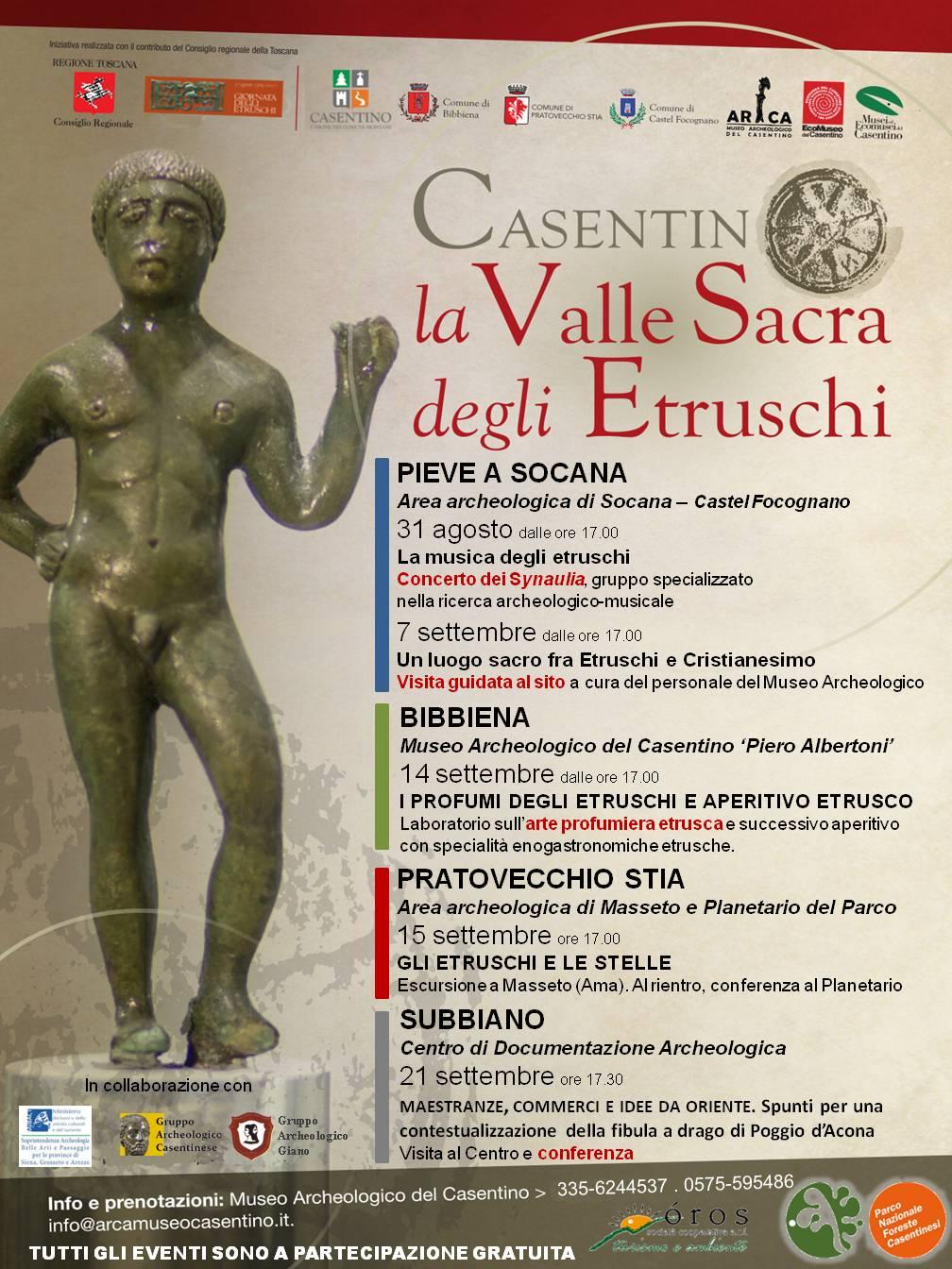 Casentino. La Valle Sacra degli Etruschi