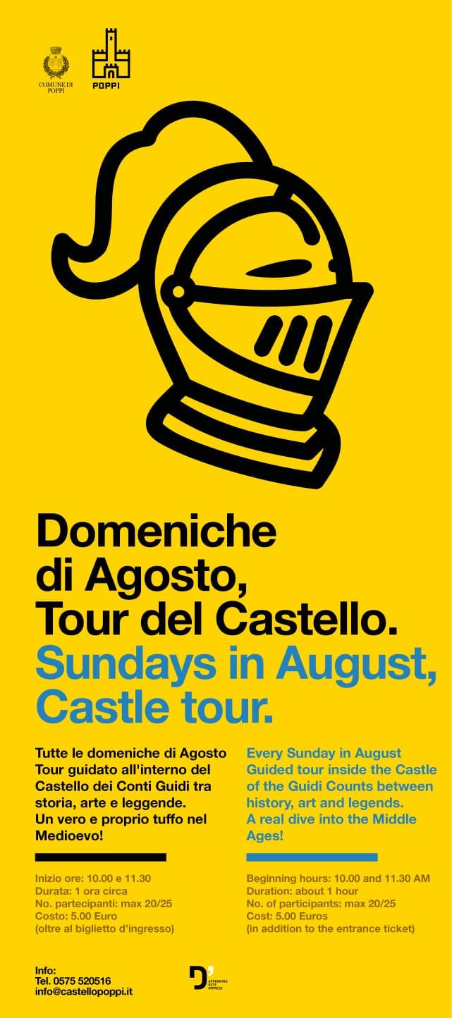 Castello di Poppi Agosto 2020