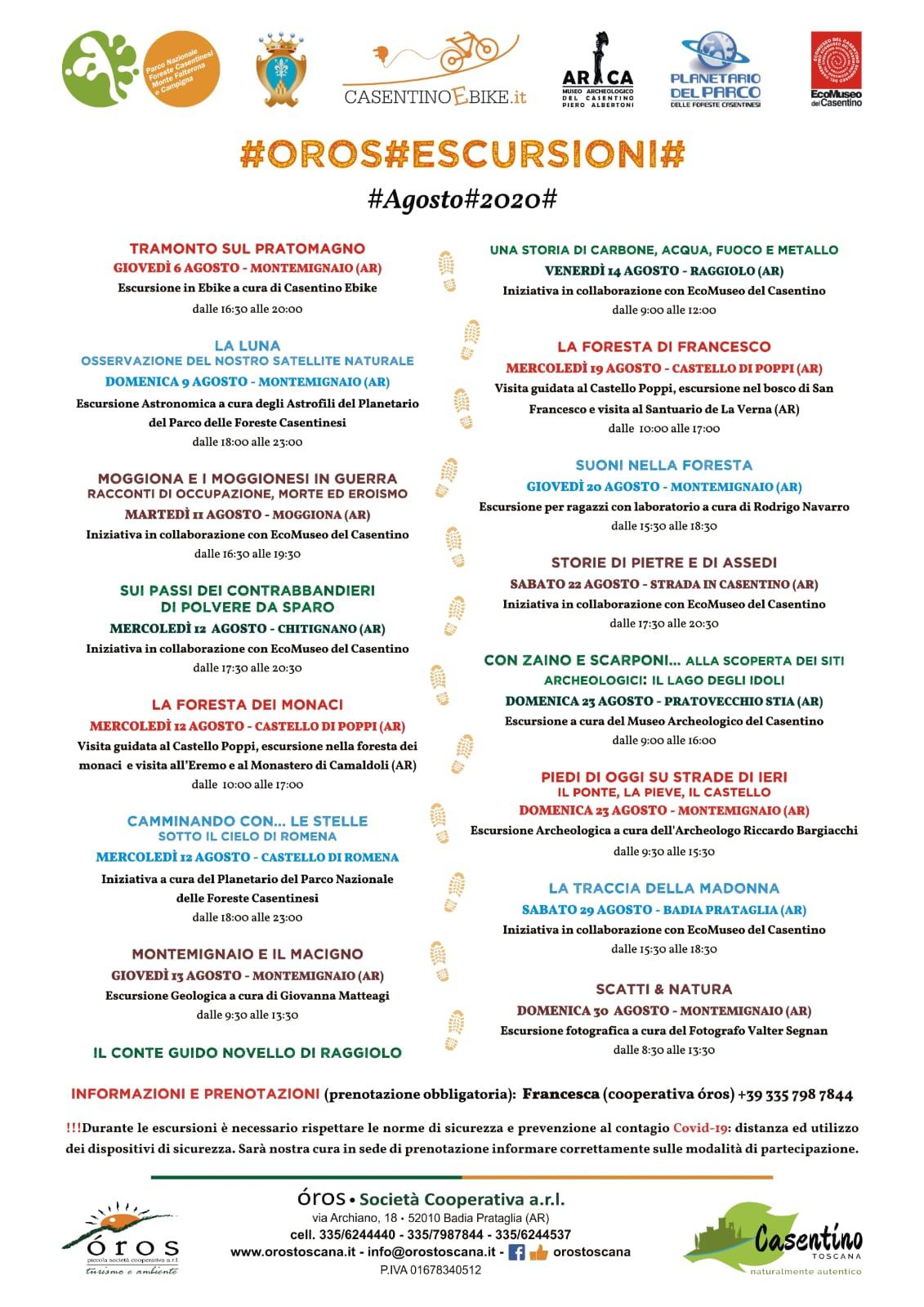 Calendario di attività