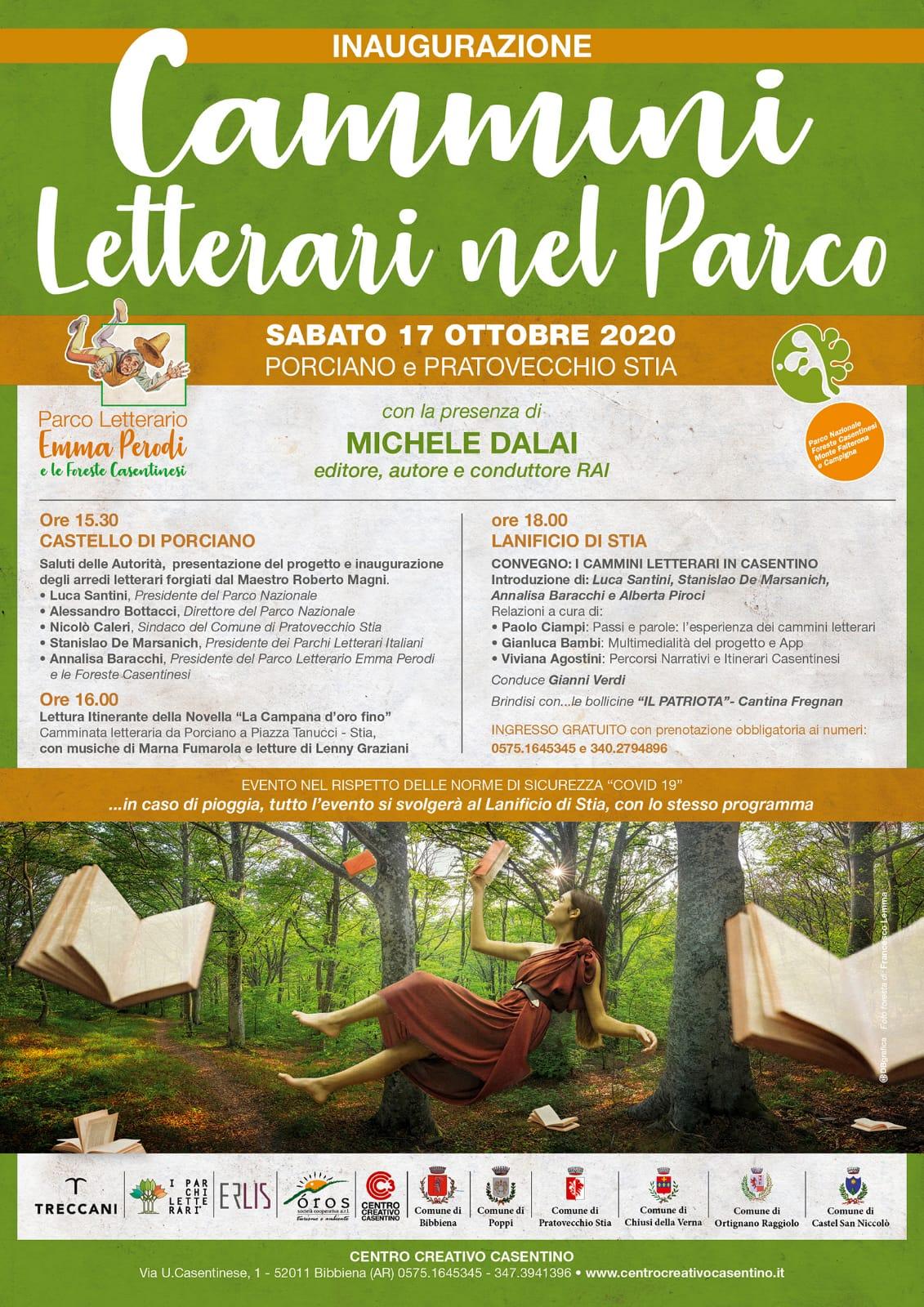 Parco letterario Emma Perodi e le Foreste Casentinesi