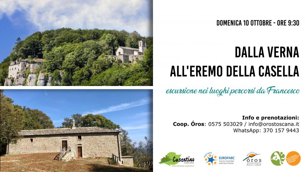 Locandina escursione Verna - Casella